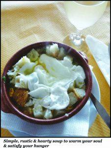 2- Sopa Alentejana
